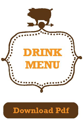 Bushel and Peck Mill City Museum Menu Drinks